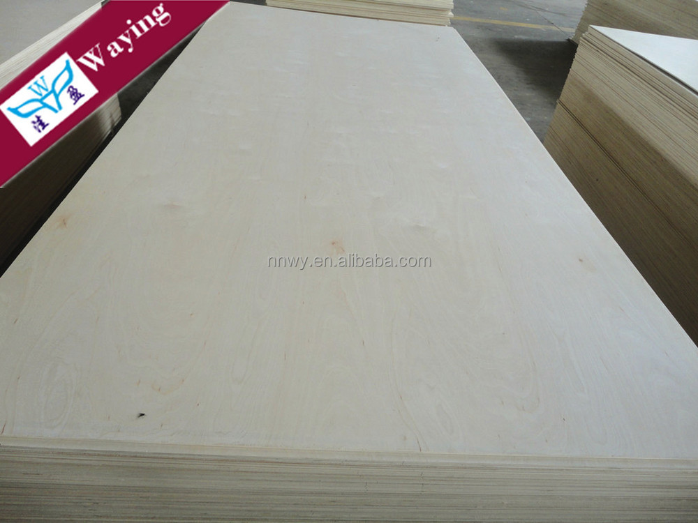 Indoor Usage and Birch Veneer Board Surface Material Russian birch plywood