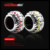 IPHCAR Fashion Automotive Hid Bi-xenon High Low Beam Projector Lens for car and moto