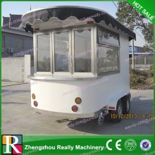 2014 RL-220H fast food van designer/scooter food vending cart for sale