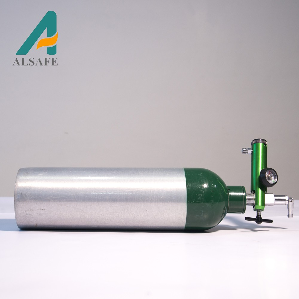 Factory price high pressure DOT m122 medical oxygen <strong>cylinder</strong>