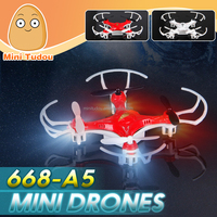 Minitudou Mini Drone RC Helicopter 668-A5 Quadcopter Headless 4CH Remote Control Toys