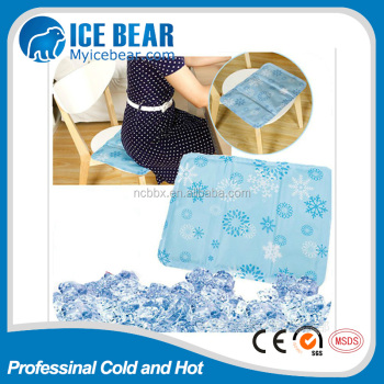 reliable quality Amazon hot sale Customized cool seat cushion, Manufacturer with MSDS SGS REACH