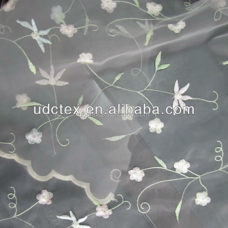 Wholesale New Design Snow Organza