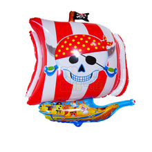 68*54cm pirate foil balloon for halloween corsair party decoration