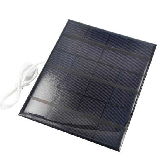 Portable 6v 3.5w 580-600MA Solar Panel USB Battery Charger For Mobile Phone Mp3 Mp4 Pad Table