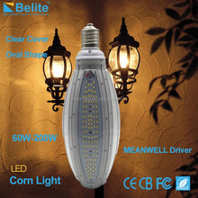 IP65 waterproof 100W E40 led corn lamp, fan inside and external Meanwell Driver