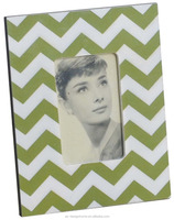 ANTIQUE LIME GREEN 4R MDF TABLE TOP PHOTO FRAME