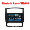 9' 2 din Android Car GPS Navigator Radio DVD player for Mitsubishi Pajero V97/V93 Factory price with Full touch screen