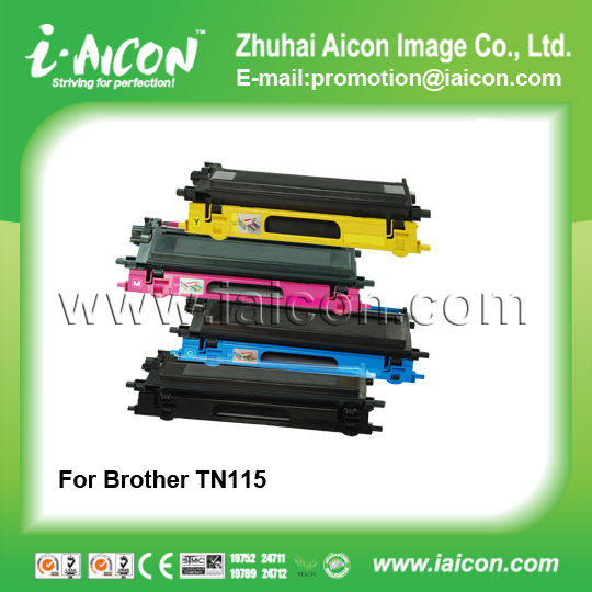 For Brother TN115 Set high yield Compatible color toner cartridge