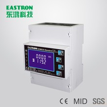 MID Certificated SDM630-Standard Three Phase Bi-directional Multifunction Energy Meter, Power Monitor,10(100)A DC Connection