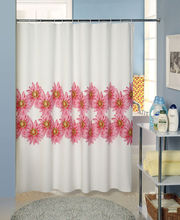 72''*72'' PEVA printed shower curtain with weighed bottom