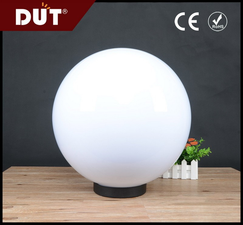 GD001-B-400-b-O 400mm 5-years guaranteed PMMA round lamp shade/plastic outdoor light cover