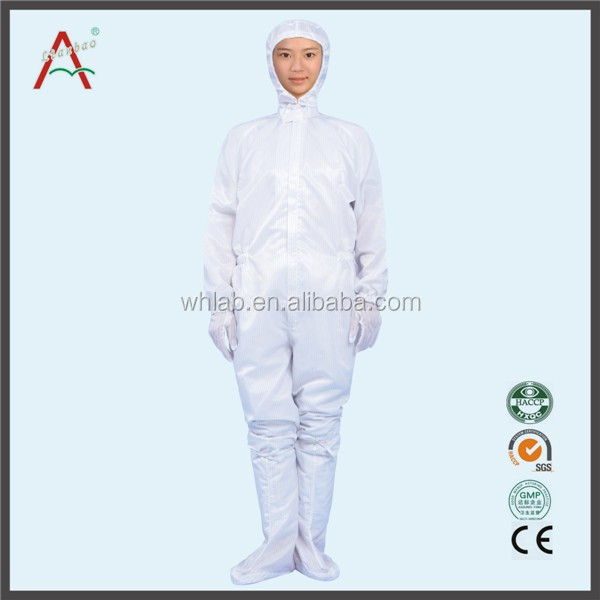 Dustproof Cleanroom 3 Piece Suit