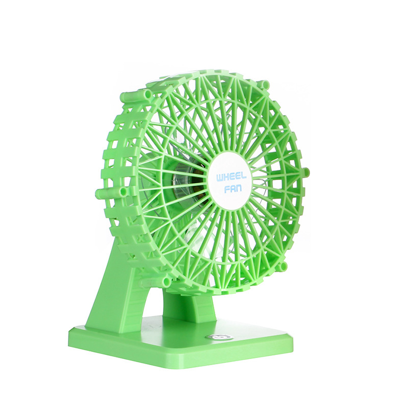 6 Inch Mini Usb Silent Ferris Wheel Aromatherapy Fan With Touch Switch