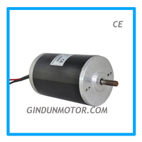 hot selling permanent magnet 24v dc motor