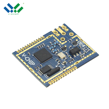 Competitive Price 1200Bps-500Kbps Data Rate CC1110 868mhz wireless module