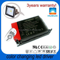 OUTPUT 1000ma 60W 24~42VDC remote control color changing outdoor led flood light LED driver