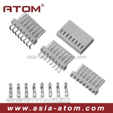 Single row 180 degree 2.54mm pitch wafer connector