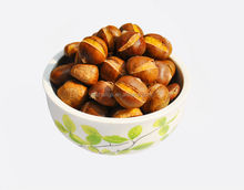 Chinese frozen roasted ringent chestnuts with shells