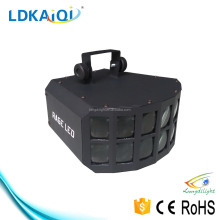 RGBW 10W LED DJ Lighting / Double Panel Black Butterfly Light / Butterfly Light