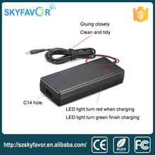 42v 36v 2.5a 3a 2 stage lithium li ion golf cart intelligent battery charger for electric pallet truck, electric forklift