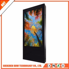 Large supply durable MP3 inch screen advertising player providers double internet touch digital signage