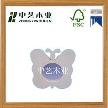 High quality wholesale cute baby wood photo frame wooden picture frame for kids