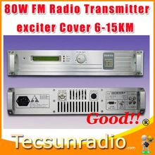Fmuser 80W Professional FM Exciter video transmitter
