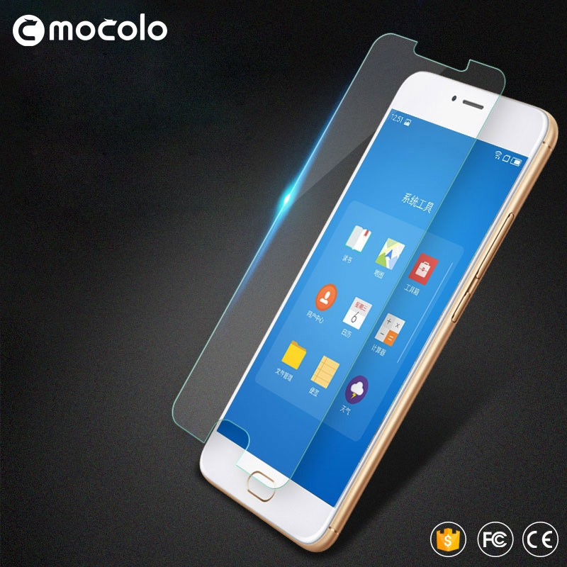 2017 new arrived transparent Tempered Glass Screen Protector for Meizu M5 Mini, Scratch Proof Protective Film