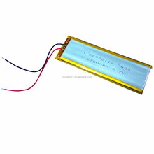 Lipo 6038114 3.7v 2700mAh lithium li ion polymer rechargeable battery pack with pcm for PDA