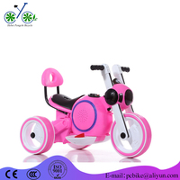 Children Ride On Motorcycle/Three Wheels Electric Kids Motor Bike/new pp baby tricycle with bottle