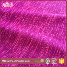 polyester spandex yarn dyed stripe single jersey knit fabric for sportswear/yoga wear