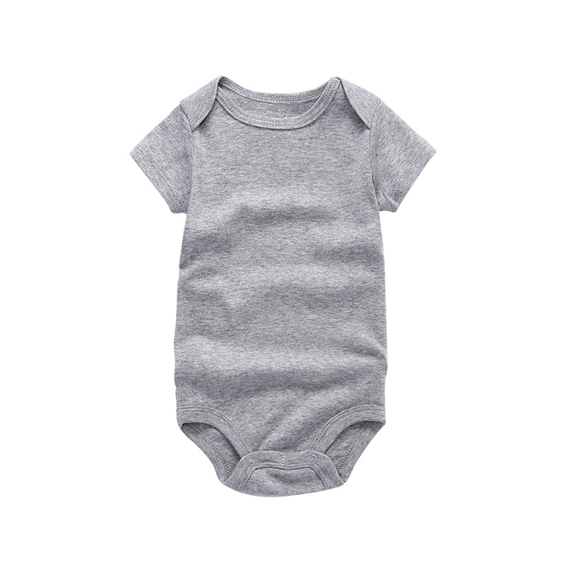 summer baby clothes blank baby rompers plain romper