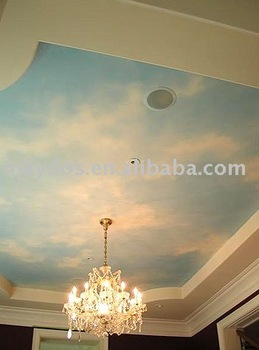 Artistic wall paint for wall decoration