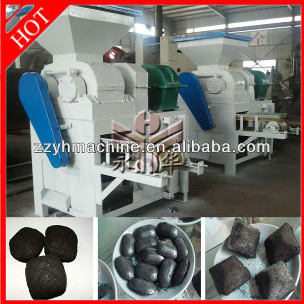 Yonghua actived carbon processing machinery carbon black briquette machine pyrolysis carbon briquette machinery 008615896531755