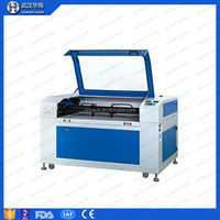 100w laser cutting machine with ERF RECI tube