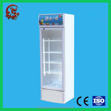 Promotional glass window mini refrigerator