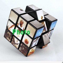 Promotional sticky note plastic puzzle advertisement magic cube