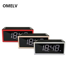2018 new alarm clock with fm radio and wireless speaker for home and outdoor