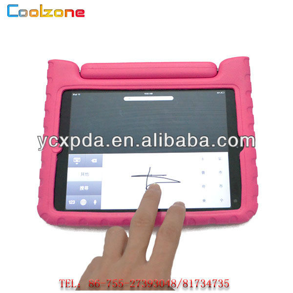 new material shock proof EVA kids cover case for ipad mini