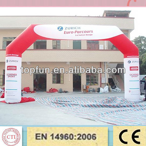 cheap advertising inflatable balloon arch