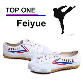 Used martial art top one feiyue canvas shoe