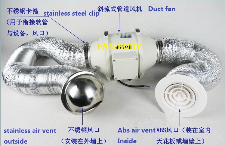 In Line Duct Fan Lowe S : In line duct fan buy inline install