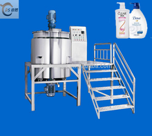Guangzhou Desheng low price Stainless Steel Liquid Body Wash Soap production line