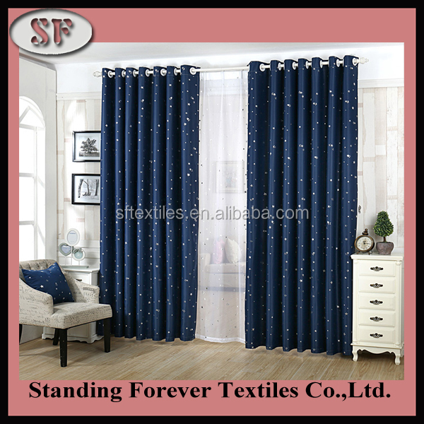 Different style different colors luxurious roman fold curtain design new model