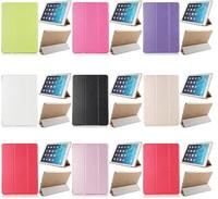 Ultra Slim Tri-Foldable Leather Stand Case Cover For iPad Air 2/iPad 6