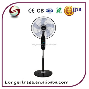 China factory 18inch 65W electric remote stand fan with temperature display