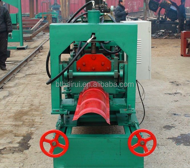 sales cheap roof gutter making machine ridge cap roll forming machine