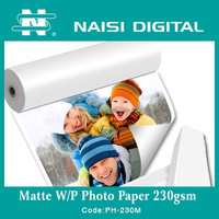 China factory 300gsm inkjet matte coated photo paper