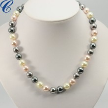 new design fashion pearl necklace for elegant ladies